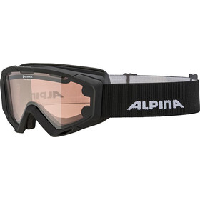 Alpina Panoma S Magnetic Q+S S1+S3 Goggles Damen black matt